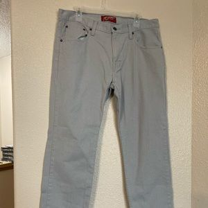 🎄Bundle🎄 Mens Arizona Jeans Light Gray 36x30